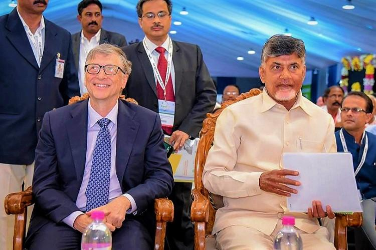 Bill Gates recalls first meeting with Andhra CM Naidu 20 years ago