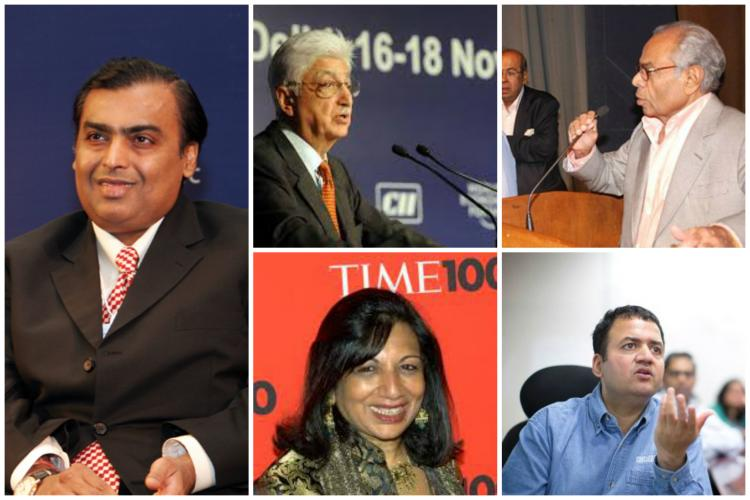 Mukesh Ambani is worth Rs160950 crore See Indias richest in 2015