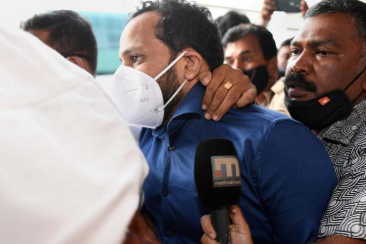 Enforcement Officials take Bineesh Kodiyeri into custody