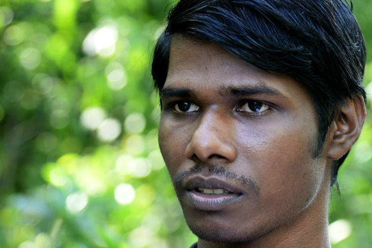 A tribal student who dreams of a Masters abroad but complacent babus stall him
