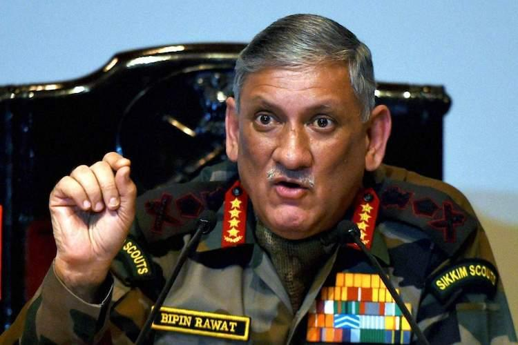 India not ready for women in combat roles Army Chief Bipin Rawat