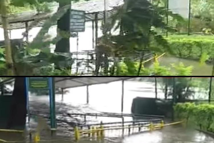 Visitors stopped from entering Karnataka sanctuary, Flooded