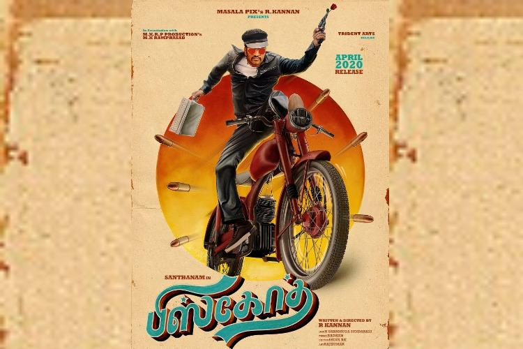 Santhanams Biskoth first look out