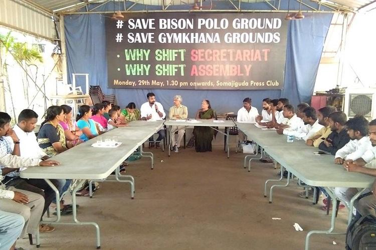 After Parade Grounds activists to protest shifting of Secretariat to Bison Polo Ground