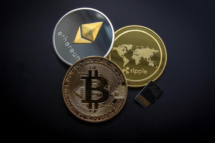 Bitcoin Ethereum and Ripple