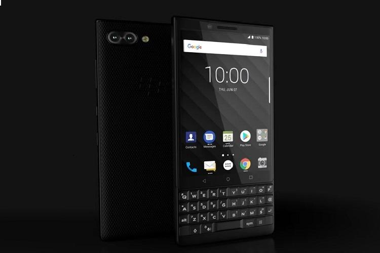 BlackBerry KEY2 with 'extra security' launched in India | The News