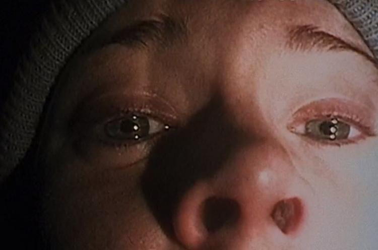 Blair Witch Project camera close up screenshot