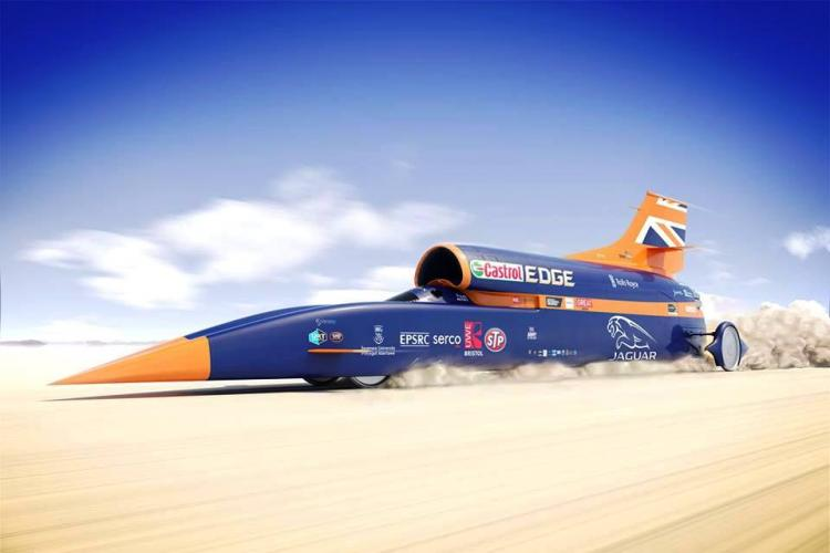 How to build a 1000mph car by the scientists behind it