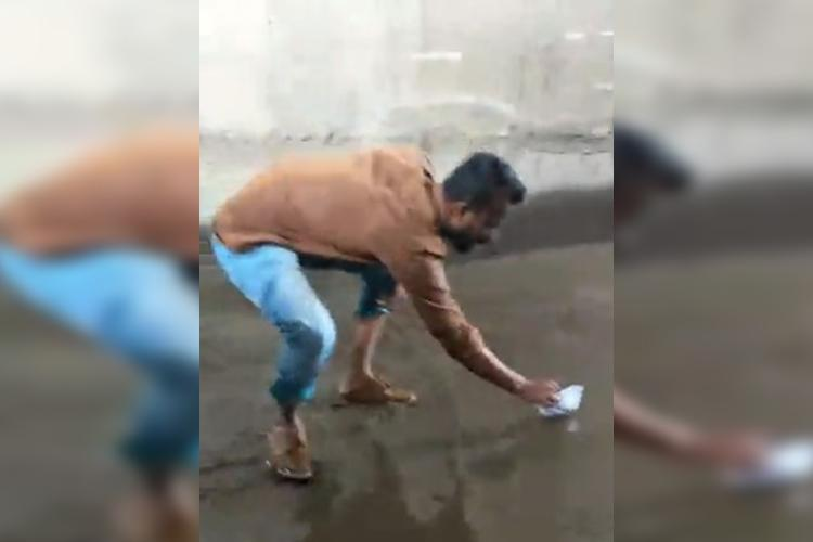 This BJP member used paper boats to protest against flooded roads in Hyderabad