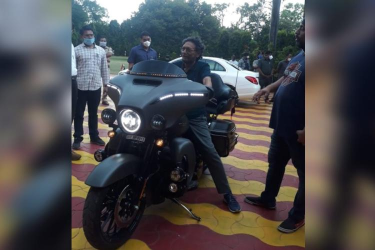 Didnt know who owned bike CJI Bobde on viral pictures of him on Harley-Davidson