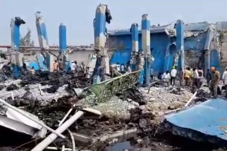 At least 6 killed after explosion in north Karnataka sugar factory