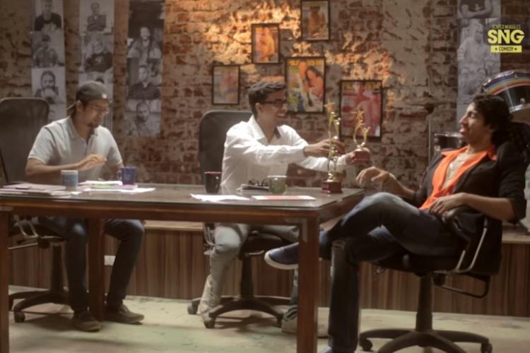 How are Bollywood awards given Watch this spoof
