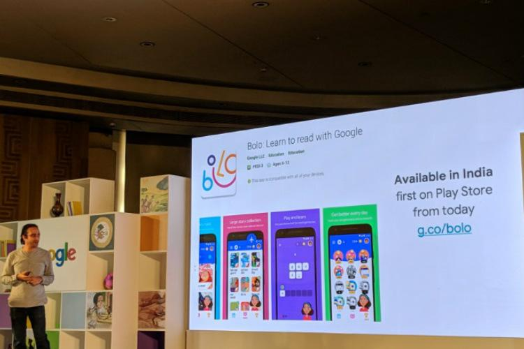 Google launches reading tutor app Bolo for kids in India