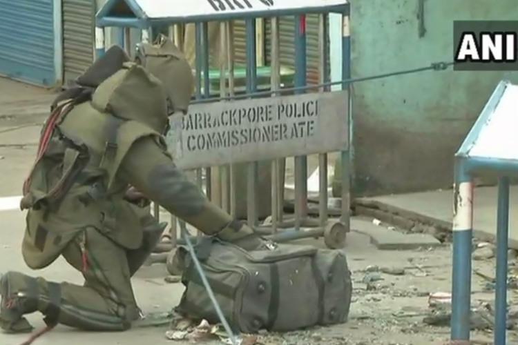 Boy killed nine injured in blast at Kolkatas Dum Dum TMC BJP trade charges