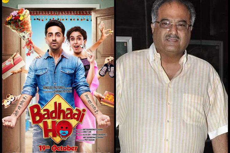 Boney Kapoor acquires south remake rights of Badhaai Ho