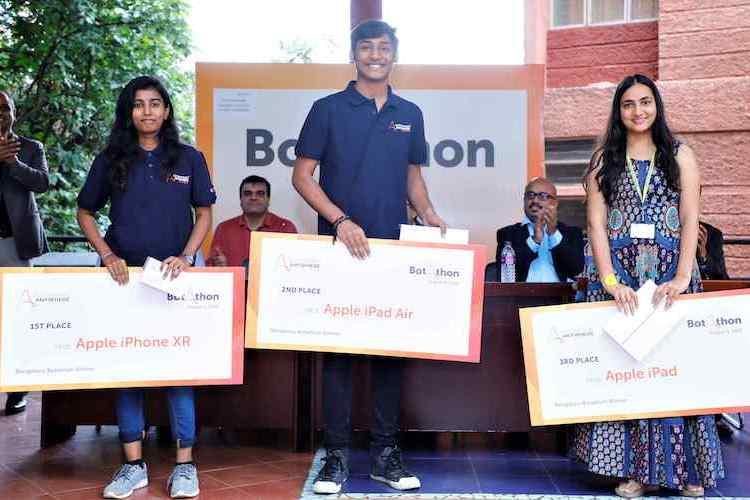 Christ University student wins Indias first-ever Botathon held in Bengaluru