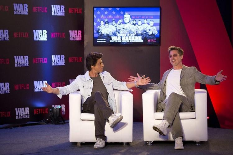 When Brad Pitt and Shah Rukh Khan met and talked about dancing films and the future of cinema