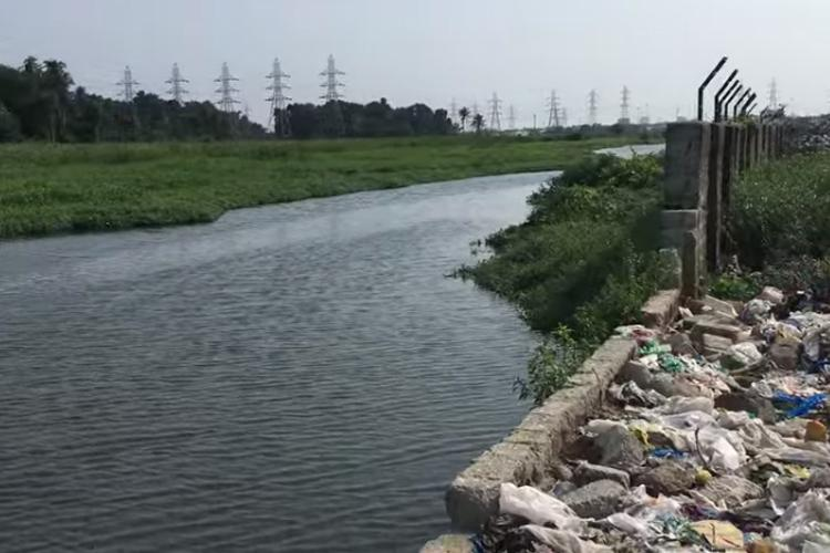 Broken wall at Brahmapuram waste plant may cause pollution of nearby river in Kochi