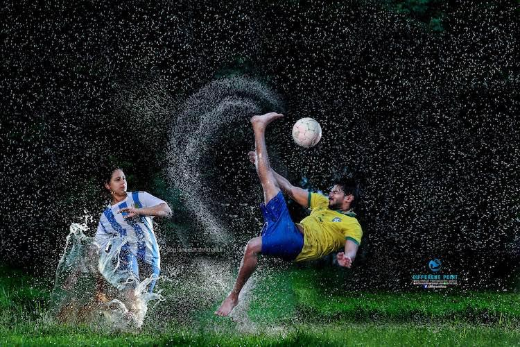 Brazil weds Argentina Kerala couples embrace World Cup-themed weddings