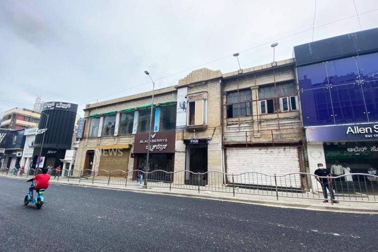 A look at the former location of Archie's on Brigade Road in June 2021