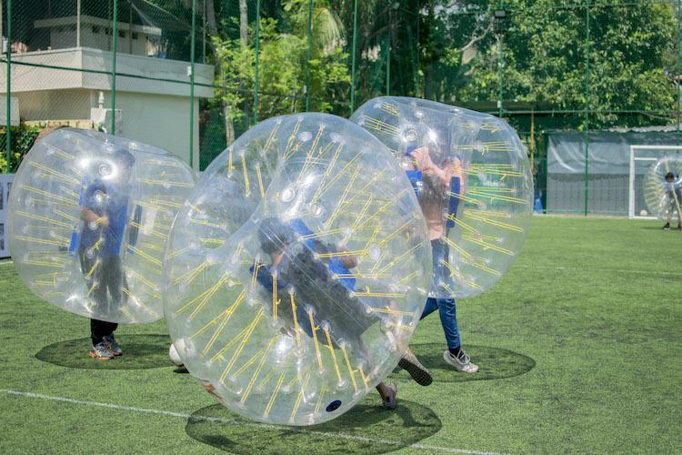 As FIFA 2018 draws closer India will host its first-ever bubble soccer league in Kochi