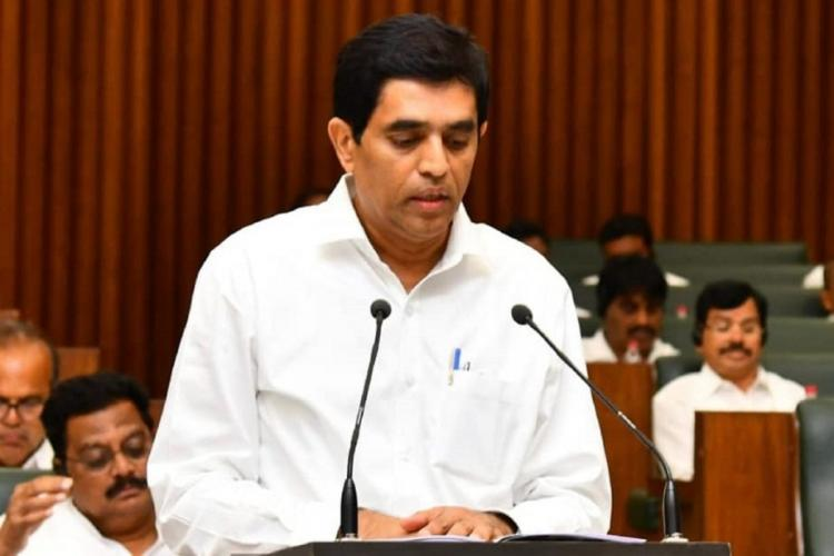 Buggana Rajendranath in Assembly