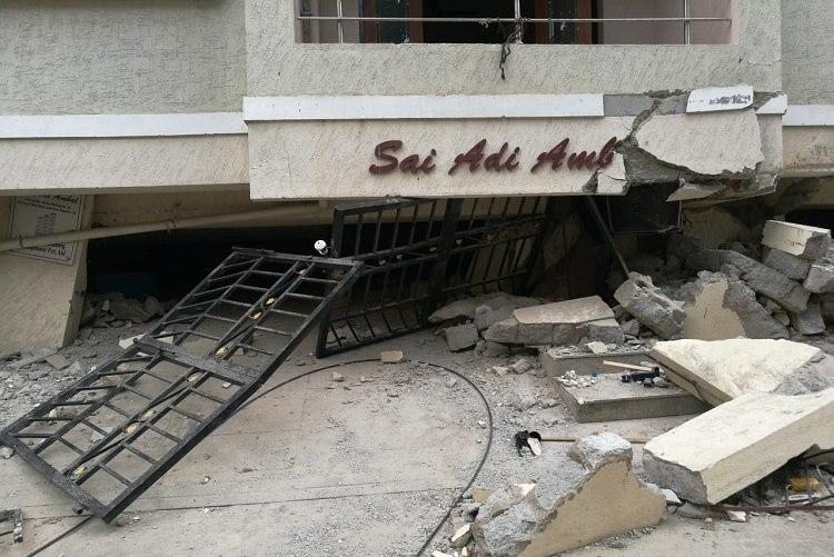 The floor was sinking Residents recount escape from Bengaluru building collapse