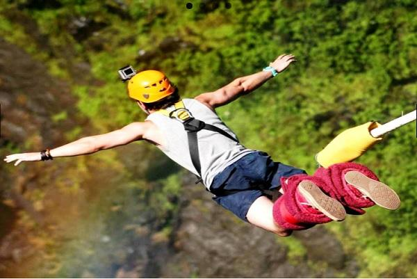 Bungee jumping or rappelling This startup curates adventure sports for the millennials