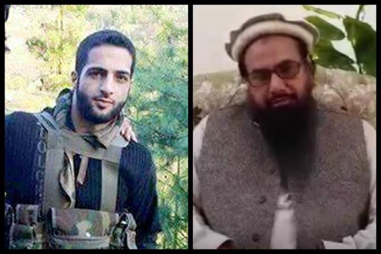 Local hero or militant Hear Burhan Wani-Hafiz Saeed conversation accessed by CNN-News18