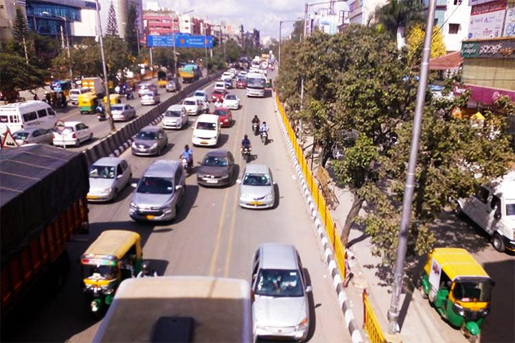 Bengalurus new bus priority lanes A partial success but violations still seen