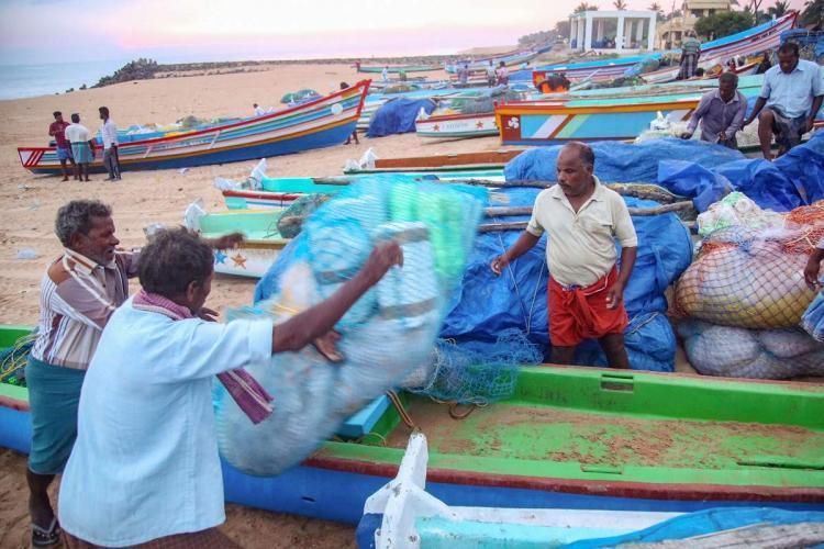 Buveri alert among fishermen in Kanyakumari coastal area boats