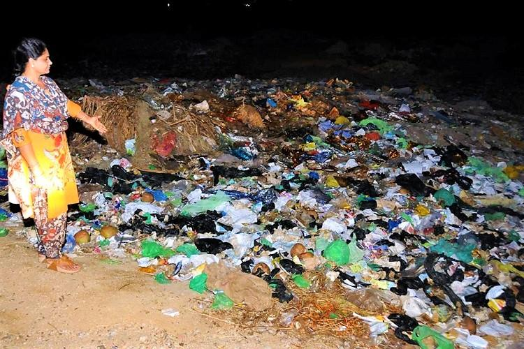 Tension at Andhra village over dumping of Tirupati citys garbage Section 144 imposed