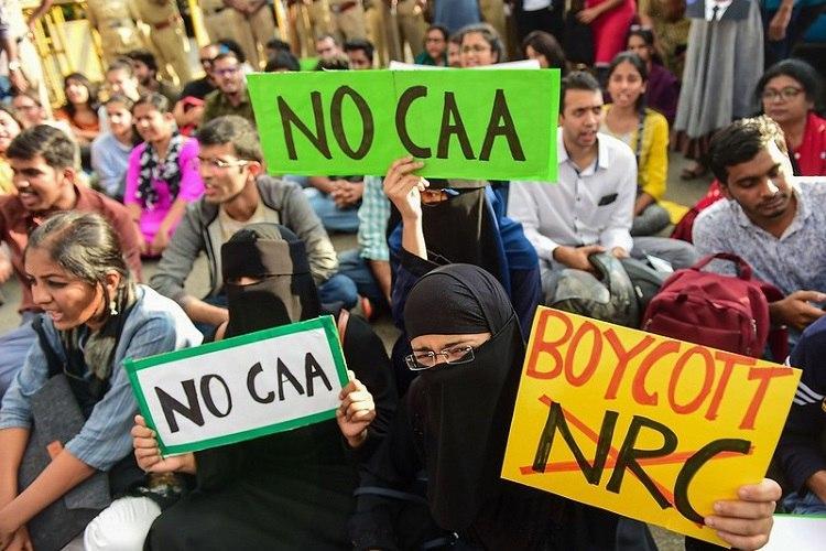 Million march at Hyderabads Tank Bund against CAA NRC Police refuse permission