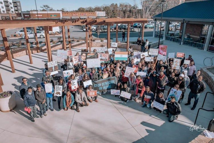 Indian Americans in four US states hold 2-day protests against CAA