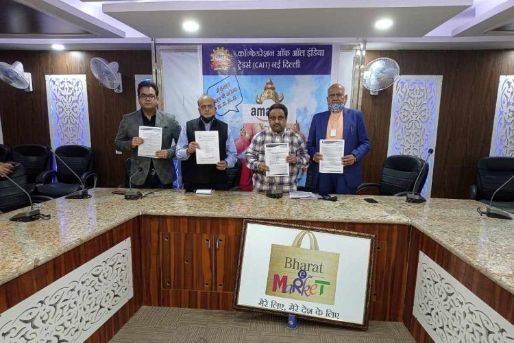 CAIT press conference against Amazon