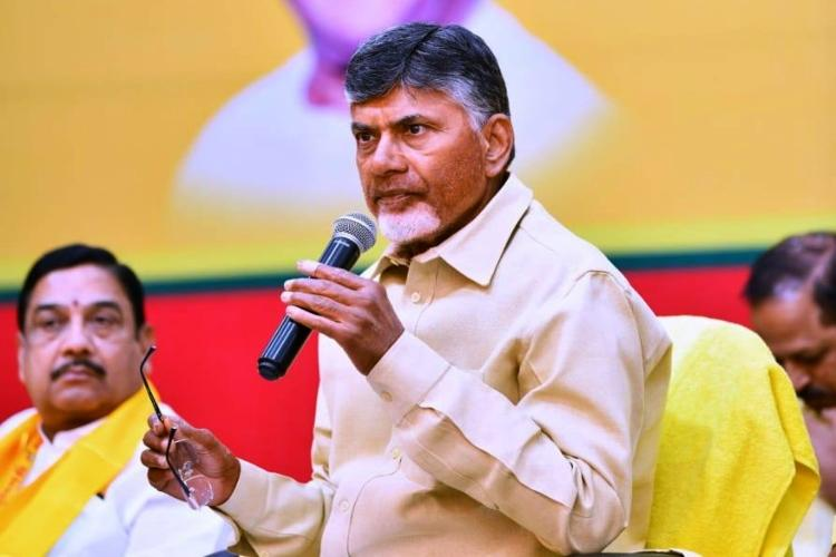 Setback to Chandrababu Naidu as 4 TDP Rajya Sabha MPs join BJP
