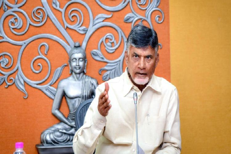 Opposition creating hurdles in Polavaram without understanding AP CM Naidu hits out