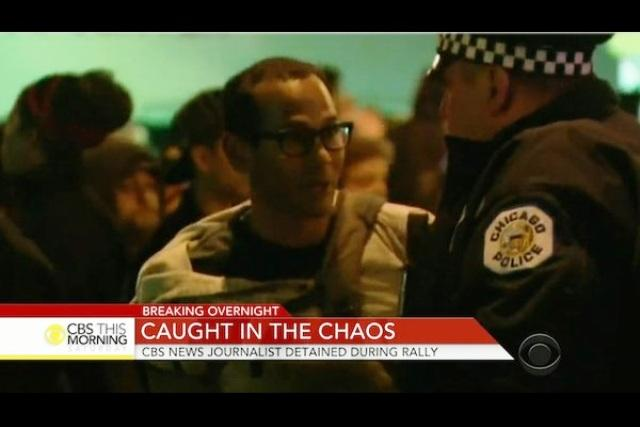 Video Indian-origin journalist detained outside cancelled Trump rally