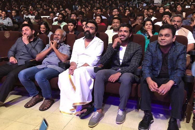 Mani Ratnam has gone back to his Nayagan days AR Rahman at CCV audio launch