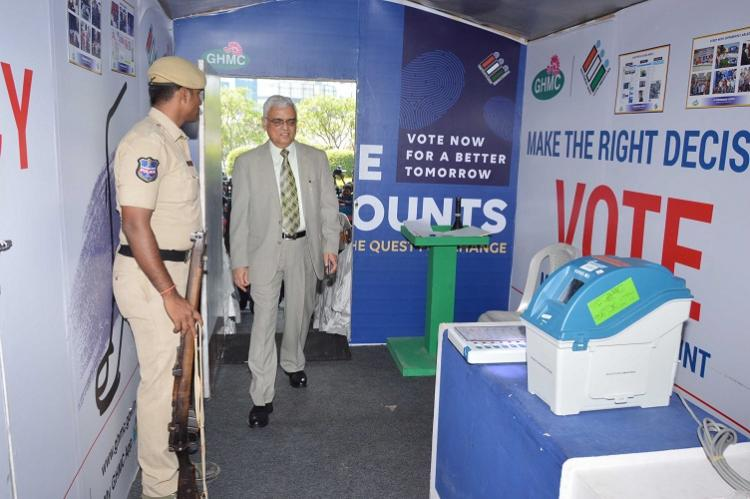 Telangana is ready for polls says CEC Rawat after 3-day Hyd visit