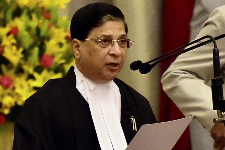 Maintain peace and calm we will take care of Cauvery issue CJI to Tamil Nadu