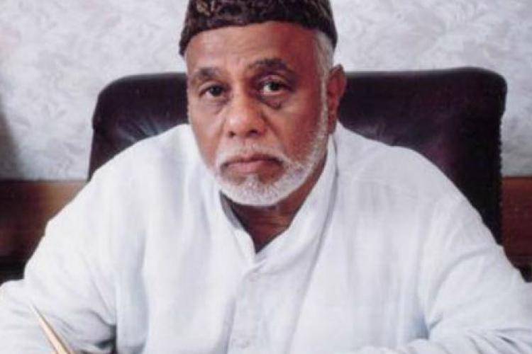 Former Union Railway Minister and senior Congress leader CK Jaffer Sharief passes away