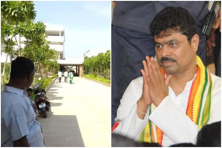 I-T raids continue on TDP leaders Now houses and offices of MP CM Ramesh searched