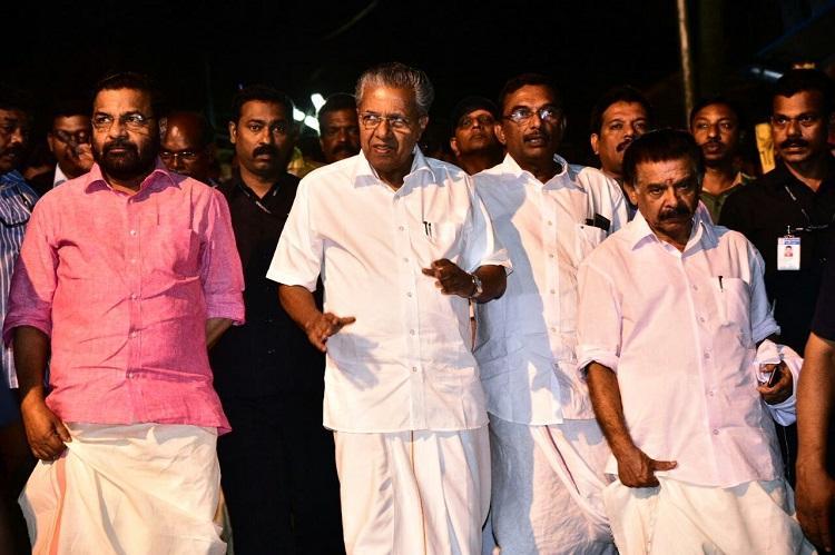 Kerala CM at Sabarimala Hill shrine to review arrangements for pilgrimage season