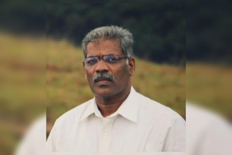 CM Raveendran Facebook profile