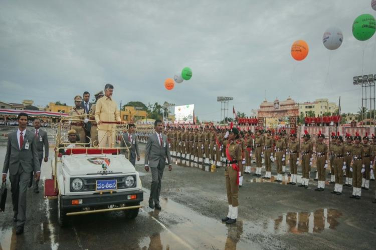 Andhra CM Naidu vows to continue relentless fight for states rights Special Status