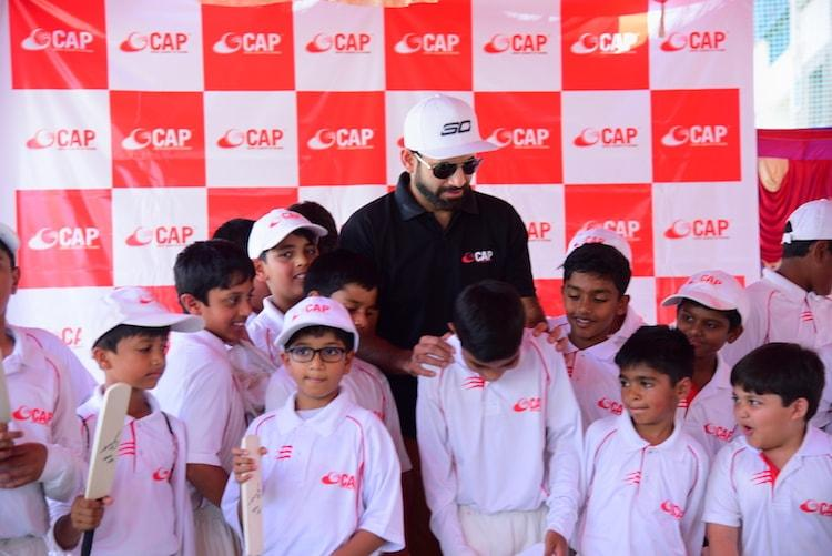 Irfan Pathan launches his cricket academy in Bengaluru, to