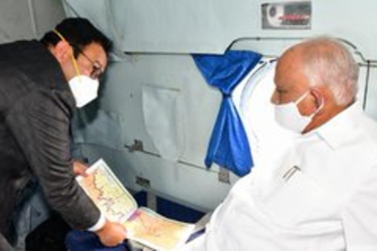 CM undertaking flood survey