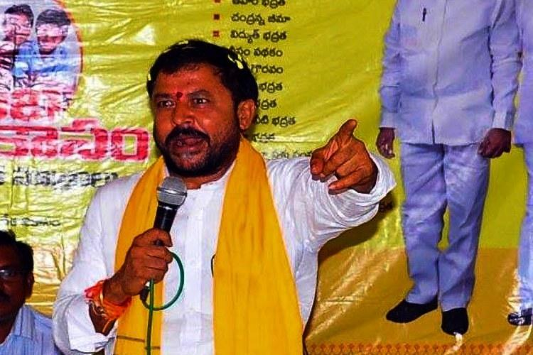 Andhra TDP leader booked for allegedly humiliating attacking Dalits