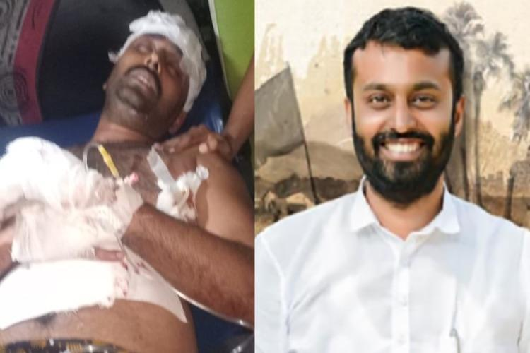 Attack on fmr CPIM leader Cong stages fast to support Naseer targets Kerala govt